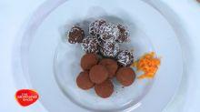 No-sugar Chocolate Energy Balls