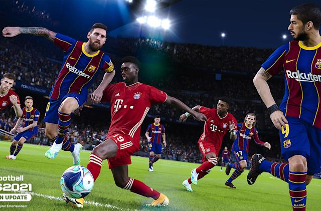The scaled-back 'PES 2021' arrives on September 15th