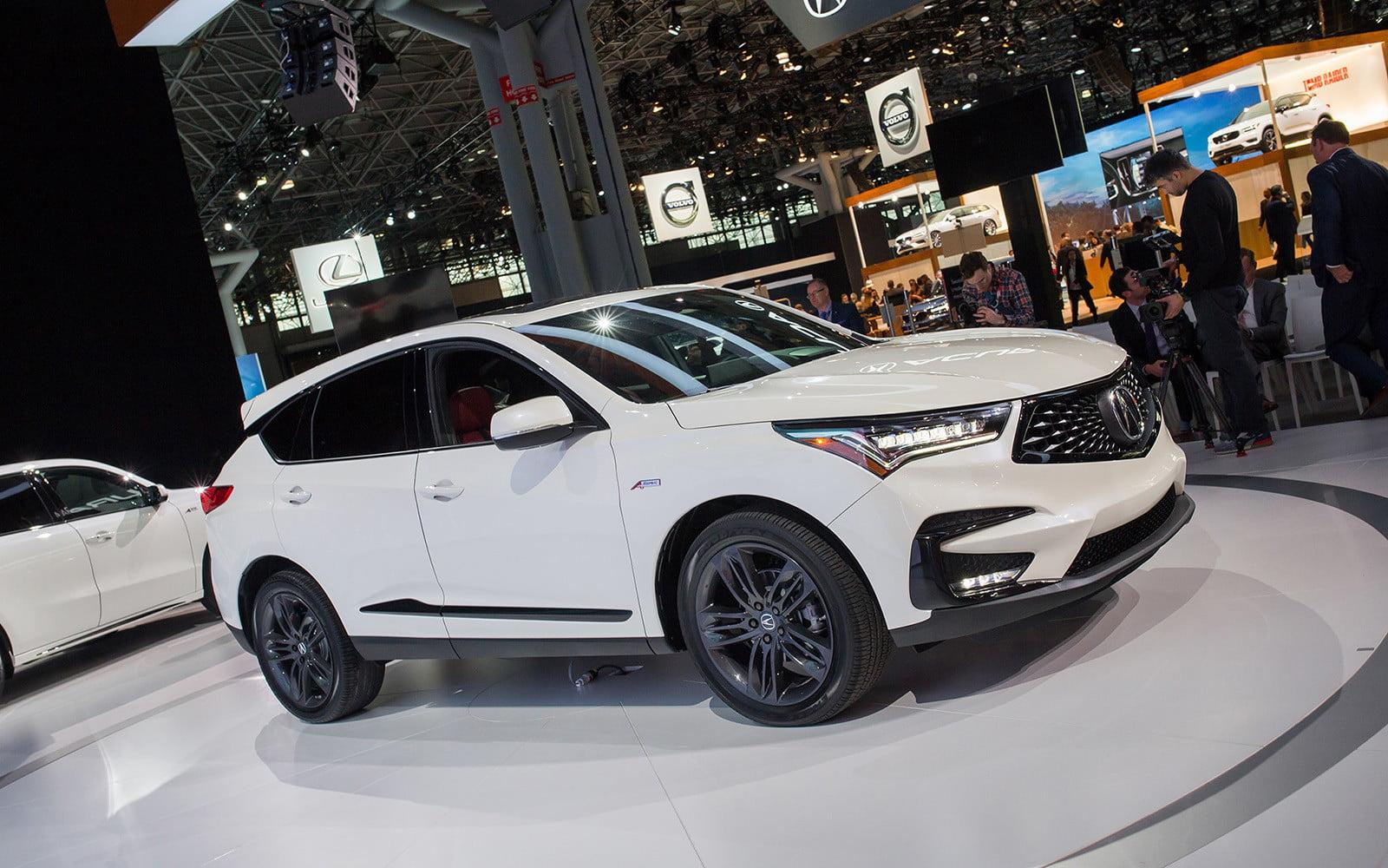 a completely redesigned 2019 acura rdx arrives in new york. Black Bedroom Furniture Sets. Home Design Ideas