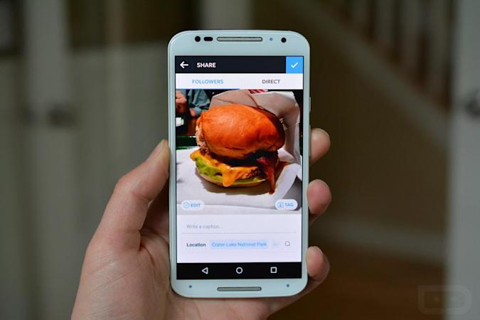 Instagram tries a faster, sleeker Android photo editor