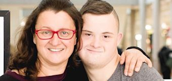 Mum's moving act to secure disabled son's future