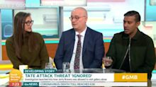 Iain Dale storms off GMB during debate on Tate gallery attack