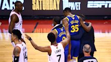 Raptors fans called out for cheering Kevin Durant's injury