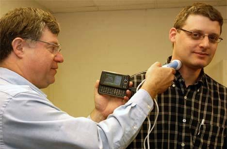USB ultrasound device coming to a Windows Mobile phone near you?