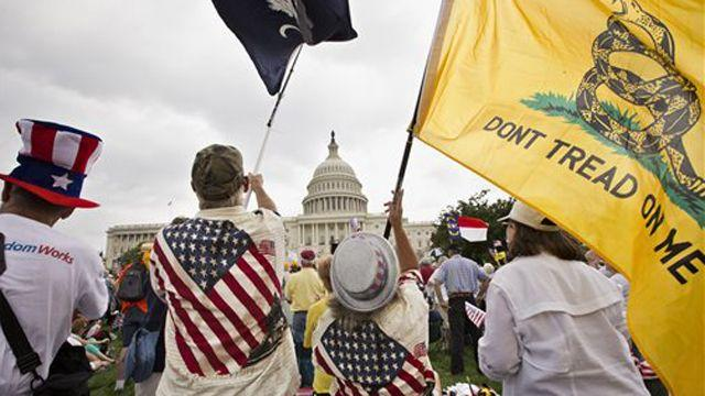 Is the left demonizing the Tea Party?