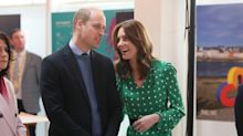 Duke and Duchess of Cambridge pack on the PDA during Ireland tour