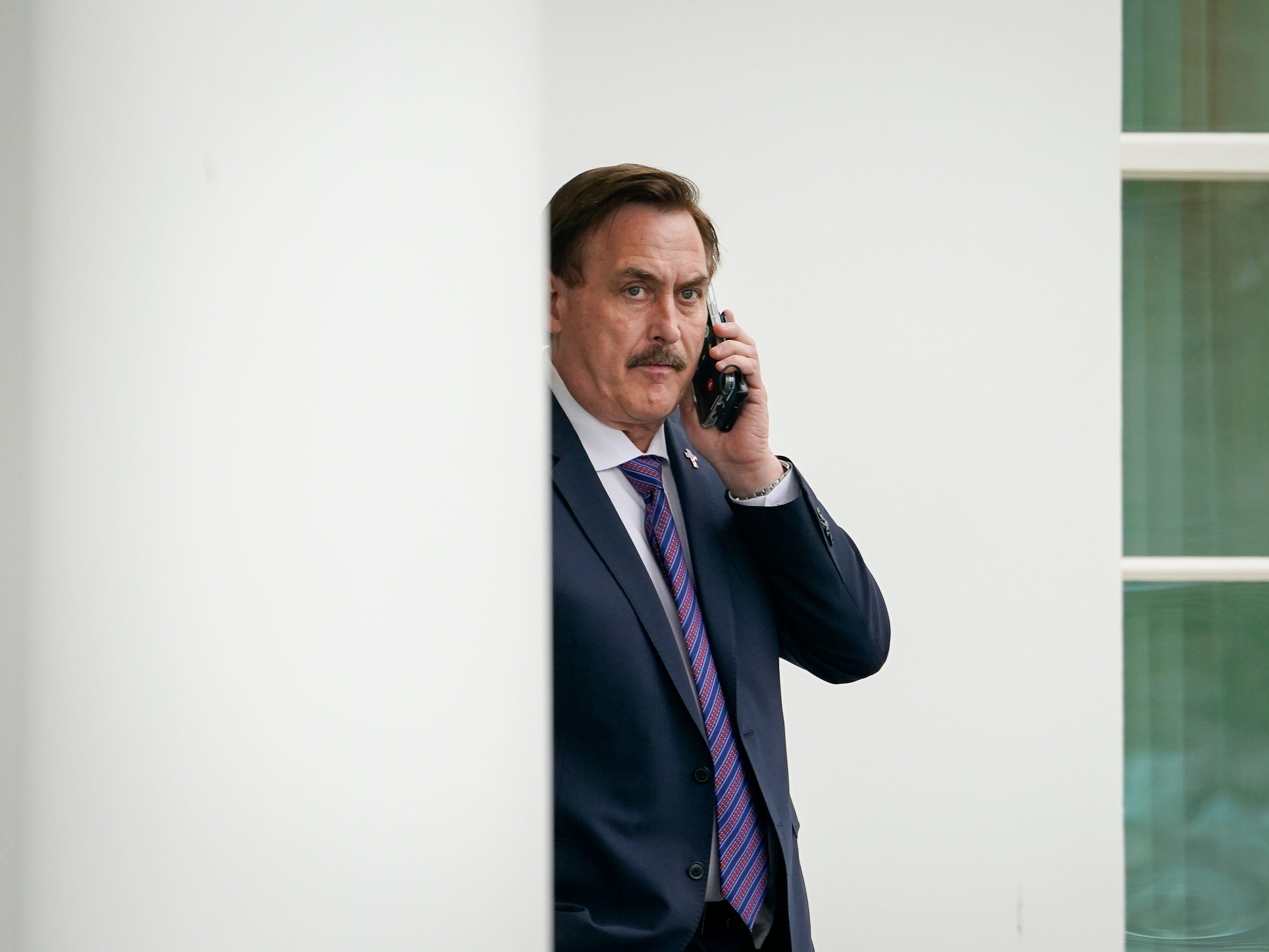 MyPillow CEO Mike Lindell - Tucker Carlson's biggest sponsor - says he's pulling ads from Fox News because it won't air his commercial about an election-fraud symposium