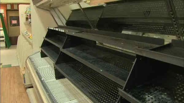NJ community loses only supermarket after Sandy