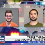 Authorities in three states say they thwarted three potential mass shootings in three days