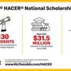 McDonald's Is Awarding $1 Million In Scholarships To Assist Hispanic Students During Pandemic