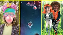 Snapchat launches AR selfie games called Snappables