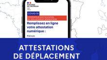 Confinement: les attestations de déplacement enfin disponibles