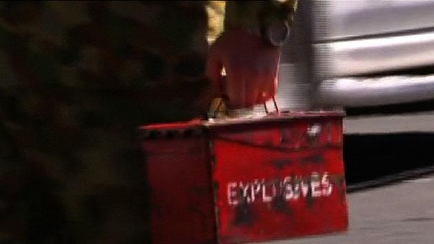Grenade brought for 'Show and Tell'