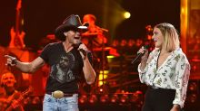 Tim McGraw met daughter's date for the first time with a bloody apron and a knife