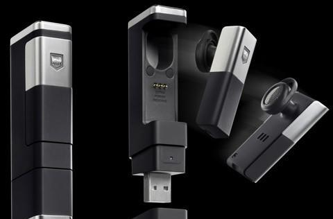 TAG Heuer's Bluetooth headset proves the rich only need 4GB flash drives
