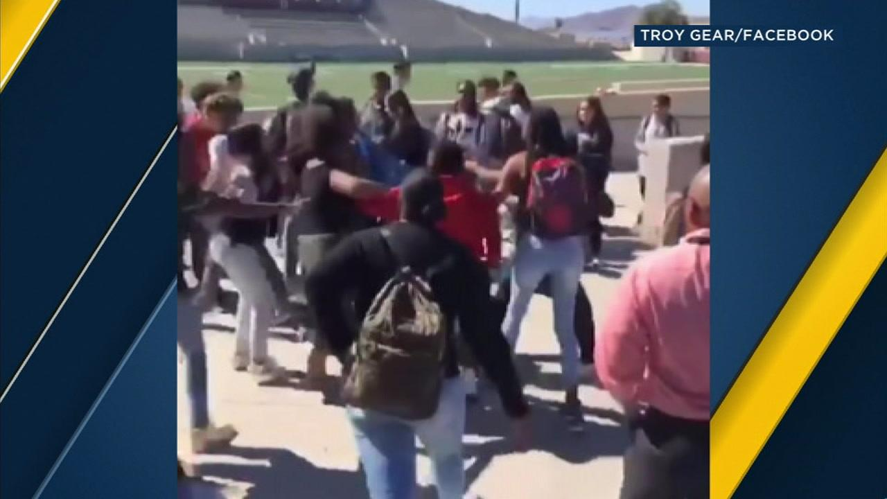 School officer at Hemet's West Valley High School assaulted by student after fight erupts on campus, police say