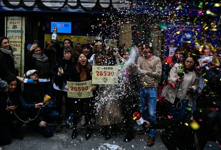 Richest lottery pays out 2 billion euros