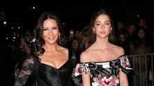 Catherine Zeta-Jones and daughter make rare appearance together at NYC fashion event