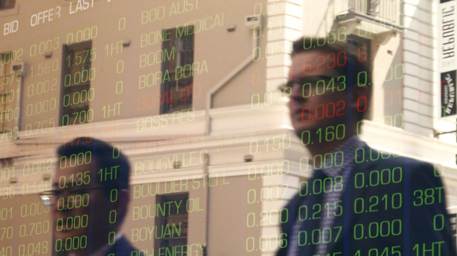 Australian shares end the week in red