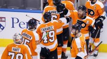 Flyers give up 3-goal lead, recover to beat Islanders in OT