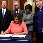 Nancy Pelosi's unprecedented gamble to hold her fire with Trump's impeachment is paying off in spades