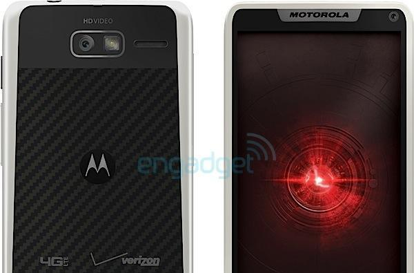 Motorola Droid RAZR M 4G LTE spotted in white trim