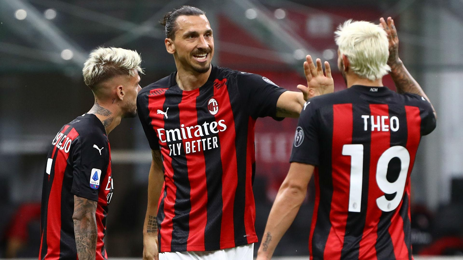 Ibrahimovic sets new Serie A record as AC Milan striker reaches ...