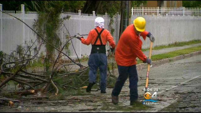 Wind Damage Reported In Doral During Afternoon Storm