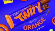 Cadbury is launching a chocolate orange Twirl