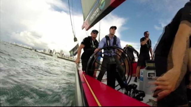 Will and Kate Duke it Out in Sailboat Race