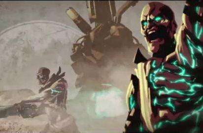 Starhawk makes a smooth transition into a new cutscene trailer