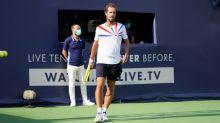 Tennis - UTS2 - UTS 2 : Touché au genou droit, Richard Gasquet s'incline en demi-finales