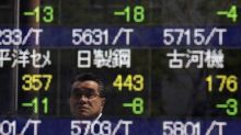 Asian Equities Mixed; China, Hong Kong Underperform as Syria Concerns Weigh
