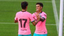 Titular, Coutinho faz gol e se 'reapresenta' a Messi no Barcelona