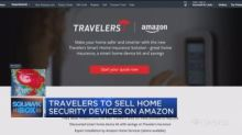 Travelers to sell home security devices on Amazon