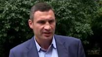 Mayor Klitschko Slams 'Unacceptable' Behaviour on Kiev's Independence Square