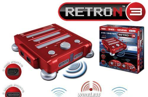 Nintendo, Sega controllers and carts find a new home in the RetroN 3 console