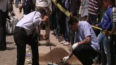 Raw: Deadly Bombing in Egypt