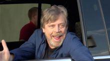 """""""Star Wars""""-Darsteller Mark Hamill überrascht Disneyland-Besucher"""