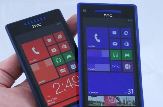 HTC Windows Phone 8X and 8S family portraits