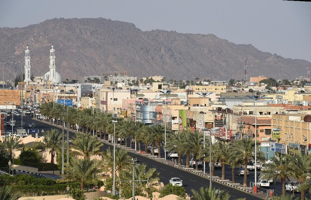 A missile fired by Huthi rebels was shot down over the Saudi border city of Najranm, and the shrapnel scattered over residential areas without causing any injuries, according to the Saudi Press Agency