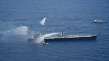 Fire on supertanker off Sri Lanka extinguished - navy spokesman