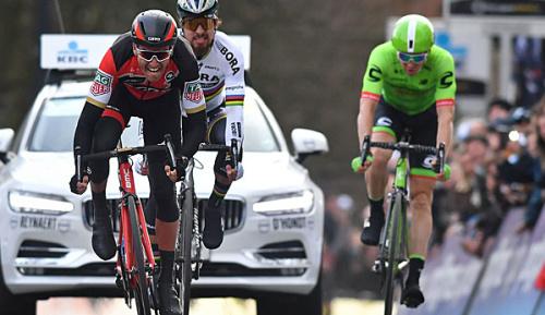 Radsport: Van Avermaet gewinnt Eintagesrennen in Harelbeke