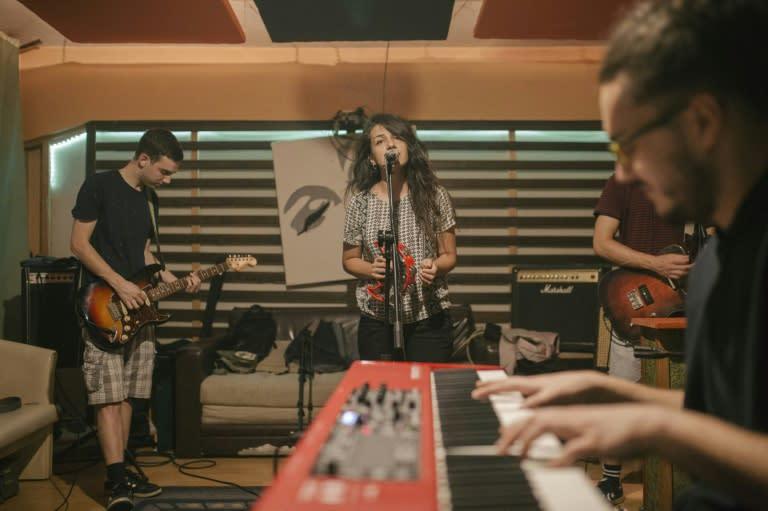 Rock groups like Dingospo Dali face uncertain times as the coronavirus epidemic has silenced the concert scene in Serbia