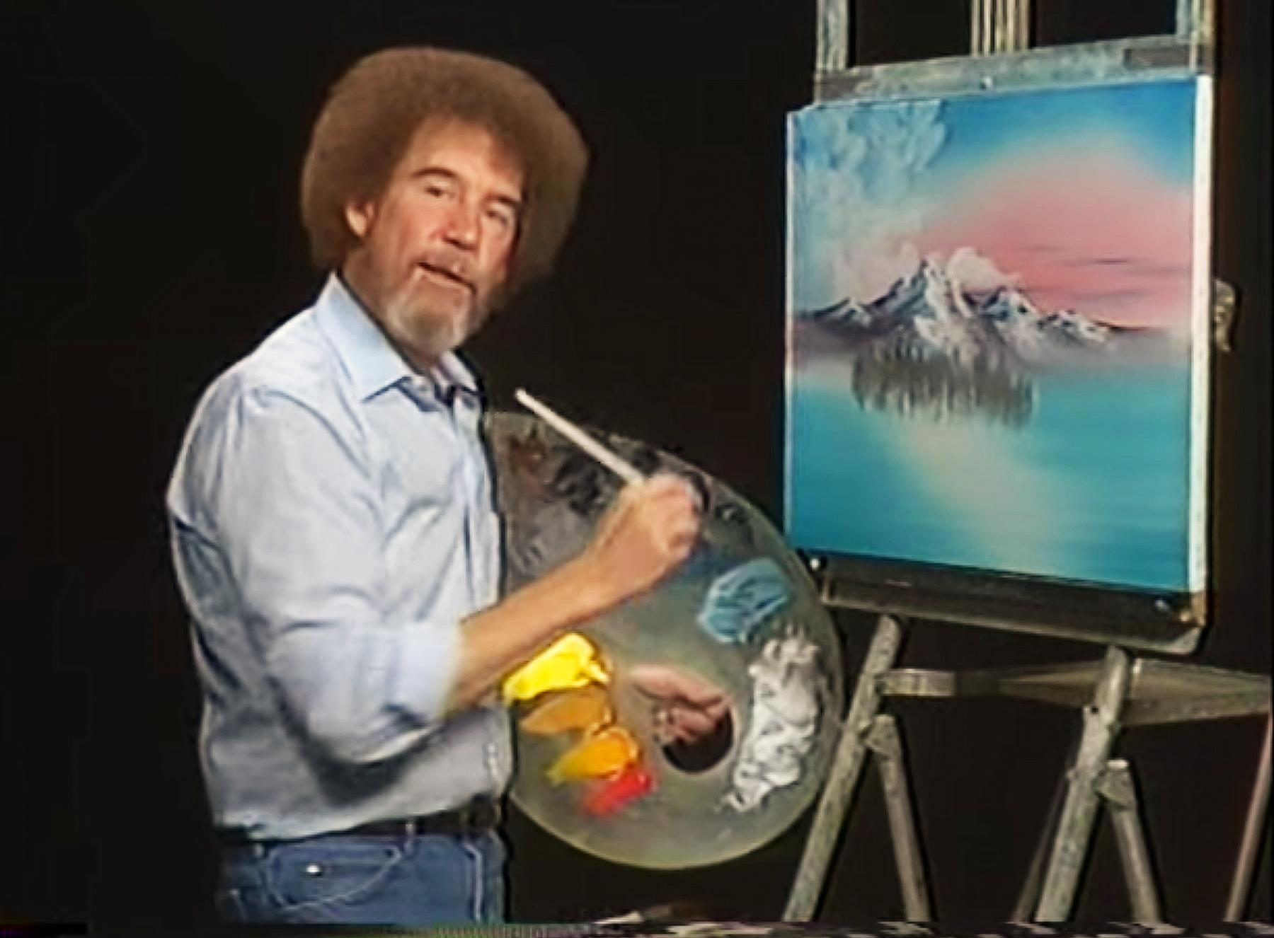 Straight perm yahoo answers - Beloved Artist Bob Ross Curly Hair Was Actually Straight Here S Why He Got A Perm