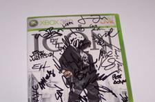 Scratch it up with a signed copy of ICON