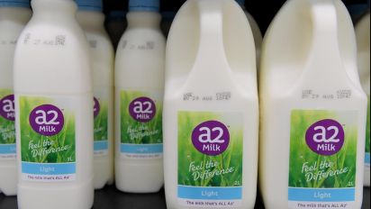 A2 Milk more than doubles half-year profit