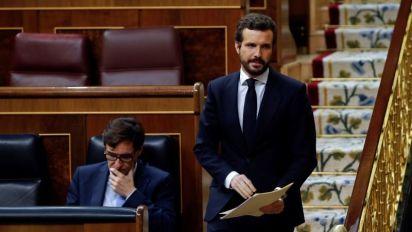 Casado replica a Sánchez que no tiene autoridad moral para pedir unidad