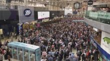 Thousands stranded at Waterloo station due to delays and cancellations