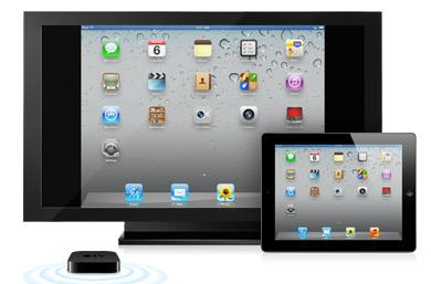 iOS 5 AirPlay Mirroring demo brings games and more to the big screen